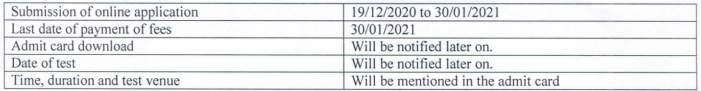 JRBT Tripura Recruitment 2020 1500 Lower Division Clerk Posts