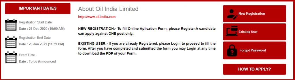 Oil India Recruitment 2021 Apply Now 22 Vacancy