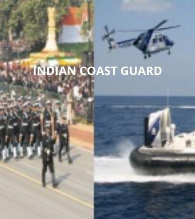 Indian Coast Guard Vacancy 2021 350 Vacancies Apply Now