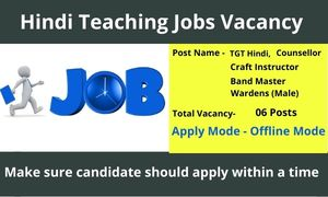 Hindi Teacher Vacancy Near Me Hindi Teacher Jobs Near Me